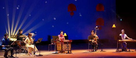 中国楽器による日本の曲